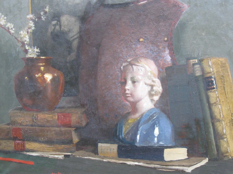 'Still Life' oil on canvas circa 1910 - Painting by James Paterson