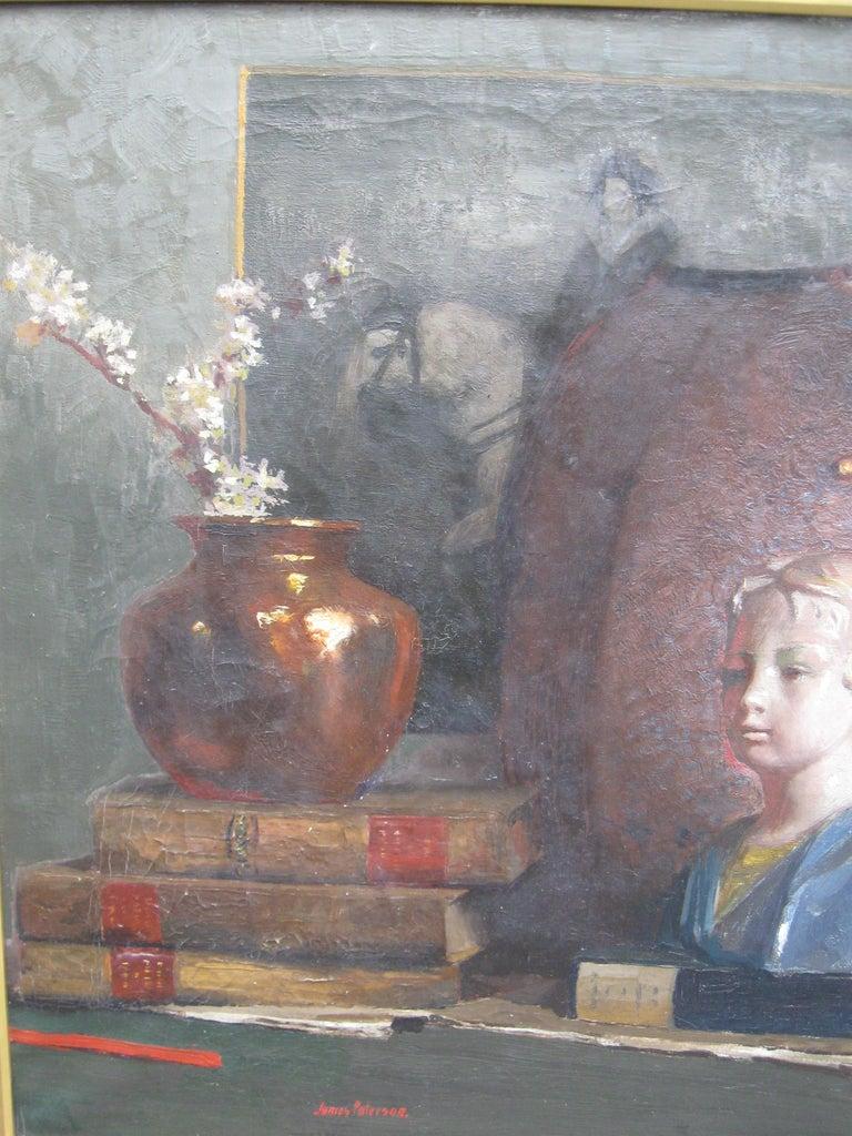 'Still Life' oil on canvas circa 1910 For Sale 4