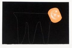 Six Aquatints (set of 6 prints): figurative minimalist black and white geometric