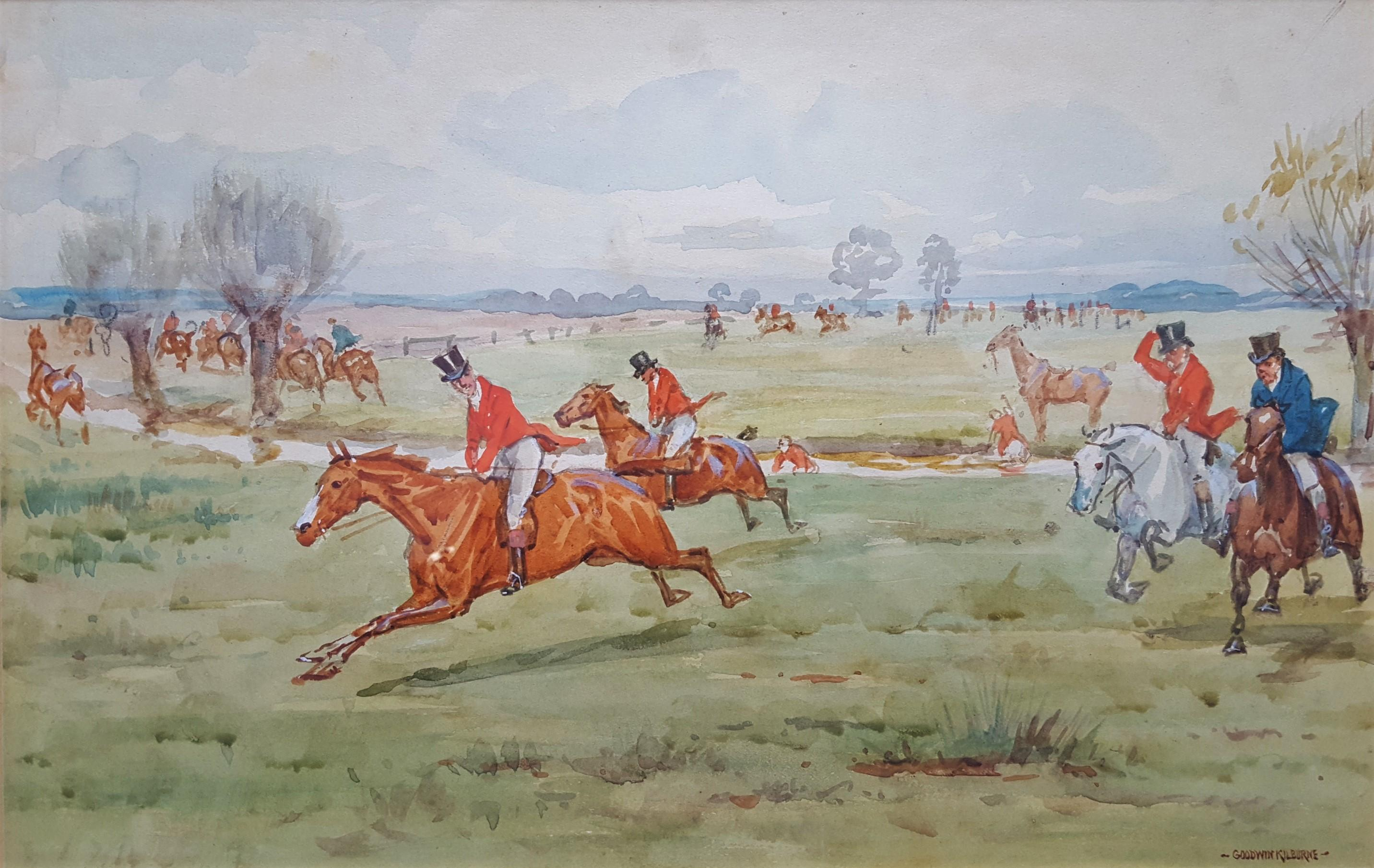 Fox Hunting, On the Scent