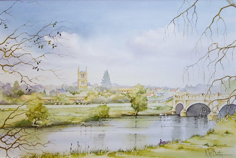Ken Burton Landscape Art - Pershore, Worcestershire