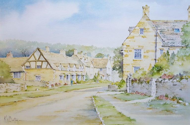 Ken Burton Landscape Art - Broadway, Worcestershire