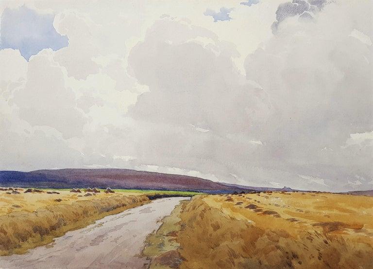 Harry George Theaker Landscape Art - Moors, Yorkshire, UK