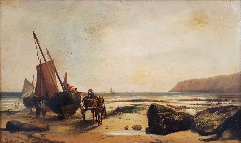 Fishermen Unloading the Day's Catch, Dover