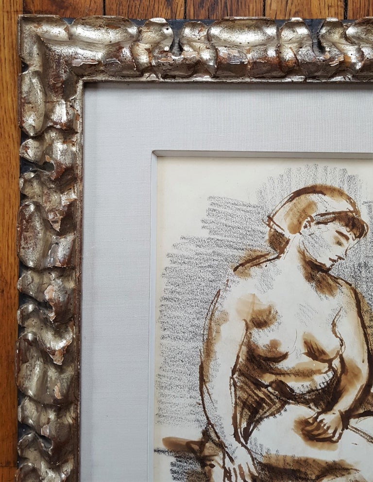 Seated Female Nude For Sale 1
