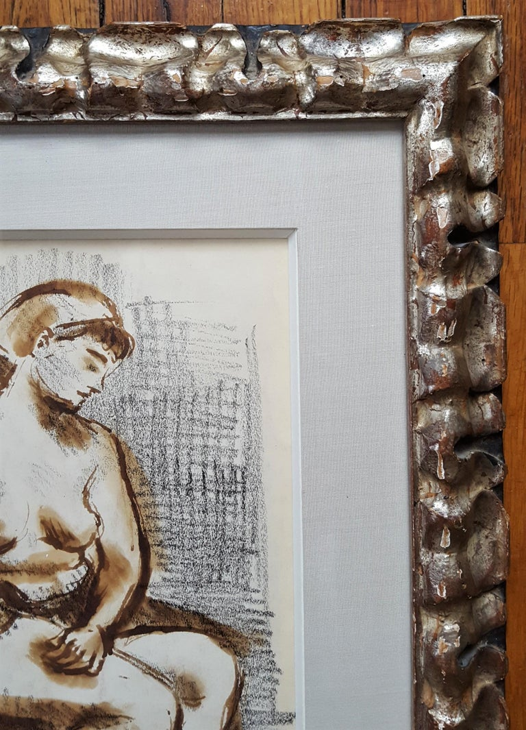 Seated Female Nude For Sale 2