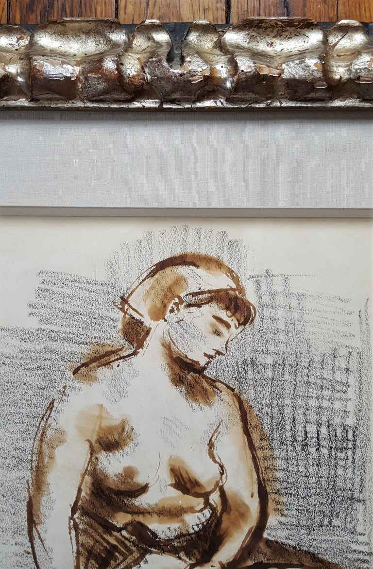 Seated Female Nude For Sale 4