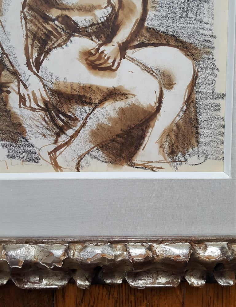 Seated Female Nude For Sale 5