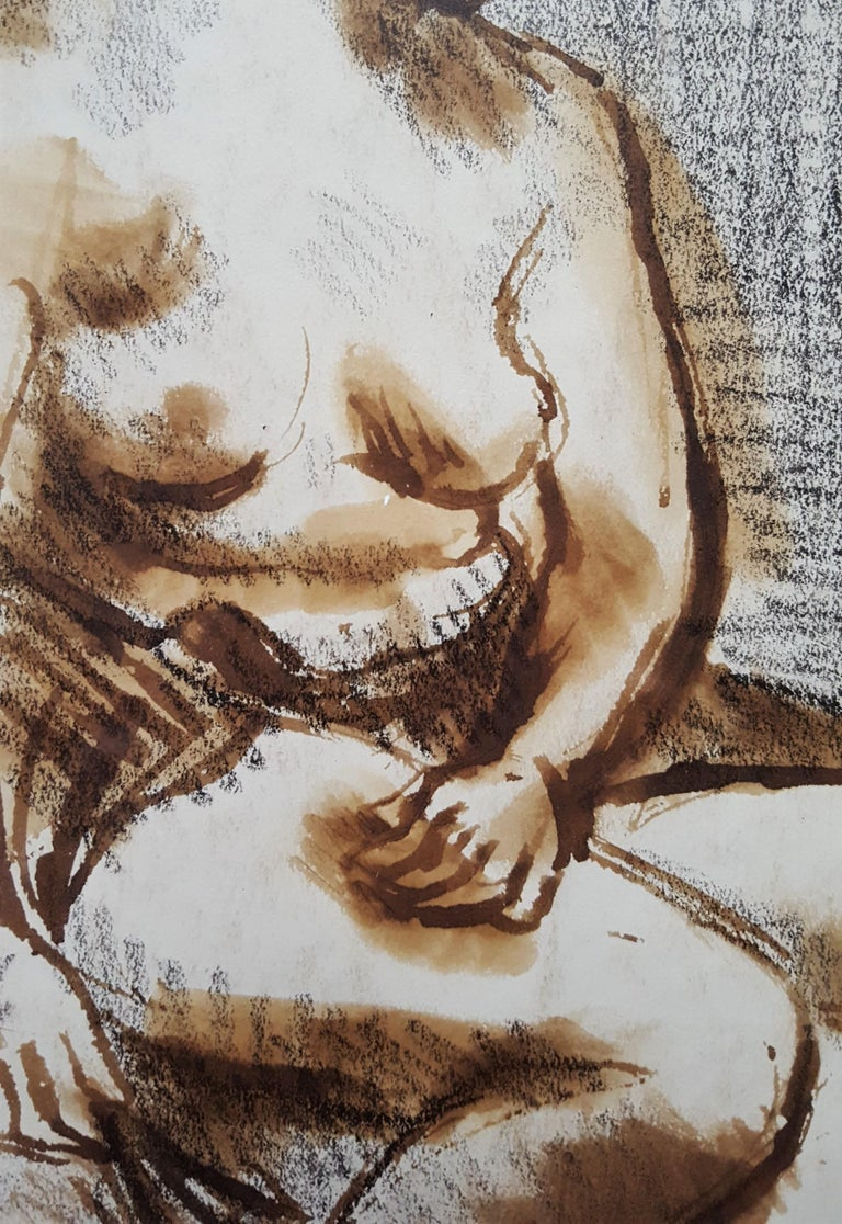 Seated Female Nude For Sale 8
