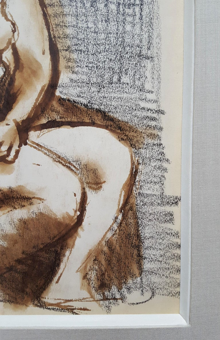 Seated Female Nude For Sale 9