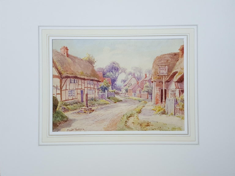 Cotswold Village, England - Art by Maud Hollyer