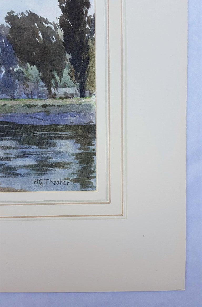 Thames River Landscape For Sale 1