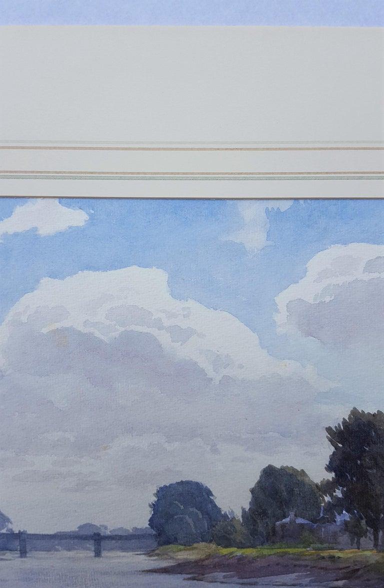 Thames River Landscape For Sale 2