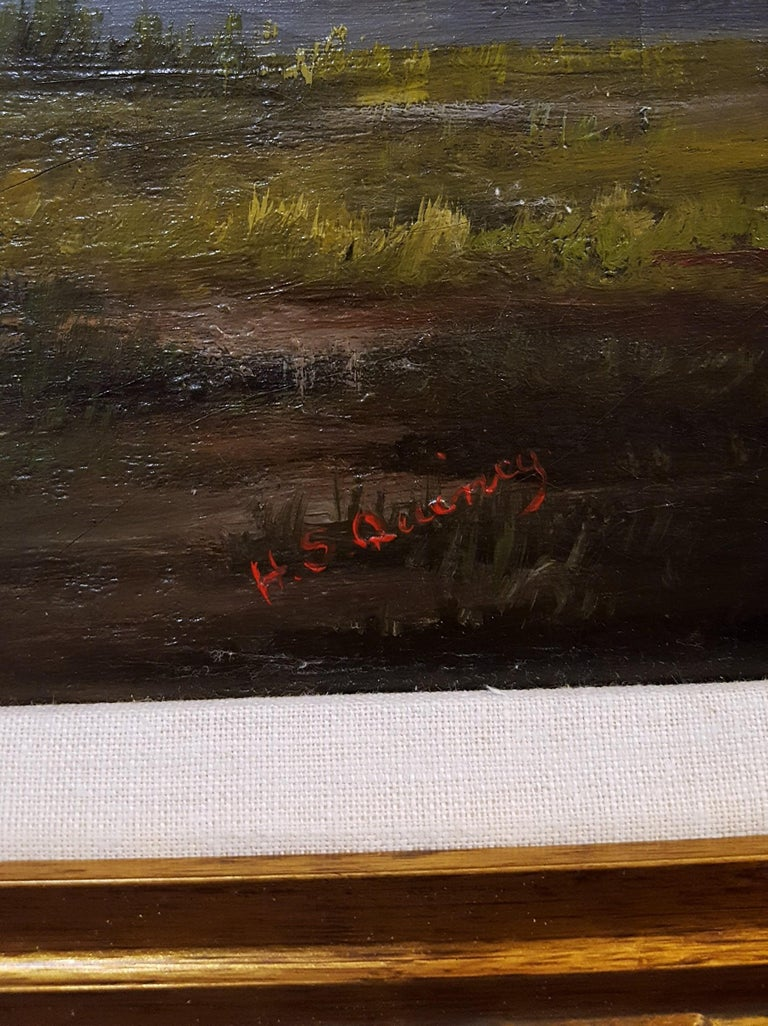 Shepherd with Sheep Pastoral Landscape For Sale 3