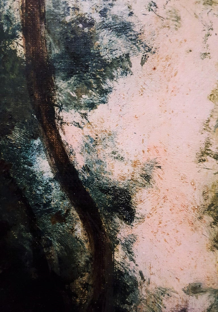 Woman in Forest Landscape For Sale 10
