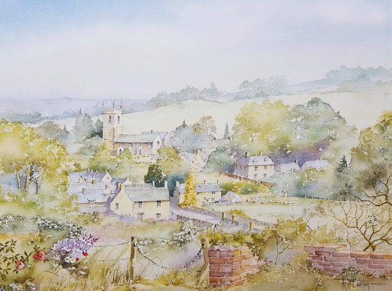 Ken Burton Landscape Art - Naunton, Gloucestershire, UK