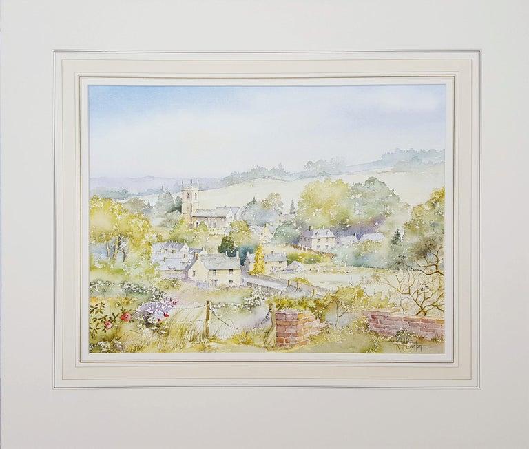 Naunton, Gloucestershire, UK - Art by Ken Burton