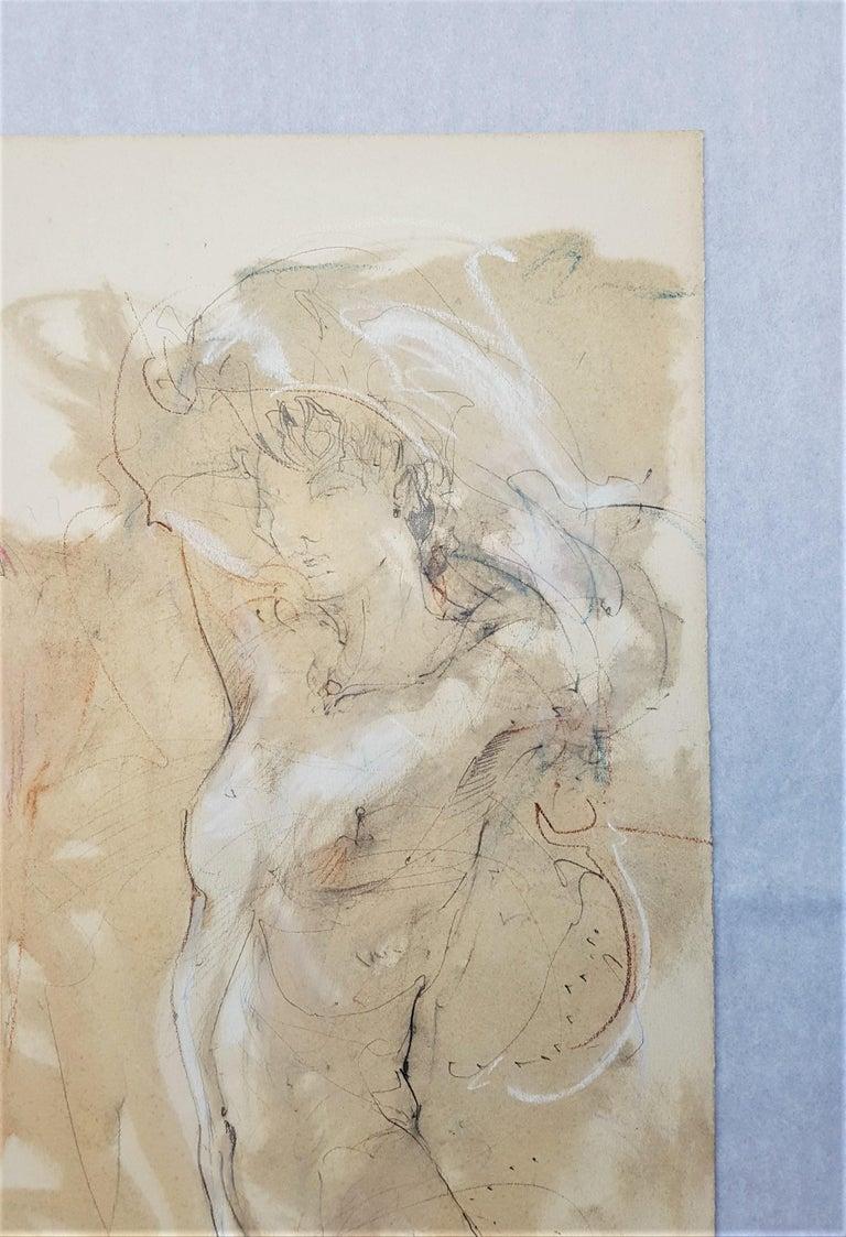 (Illegible Title) - Beige Nude by Jurgen Gorg