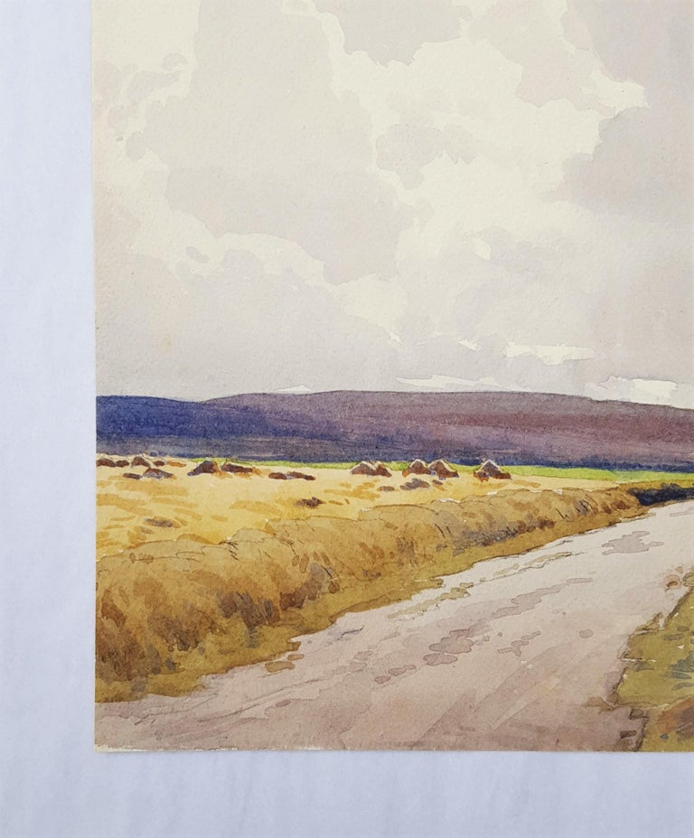 Moors, Yorkshire, UK - Art by Harry George Theaker