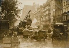 Paris, Les Halles, circa 1930  - Silver Gelatin B & W Photograph