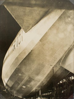 Construction of the Airship R101 Silver Gelatin Black & White Photograph