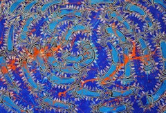 "Luis Miguel Valdes, ""Havana in trending I"", acrylic on canvas, Cuban art"