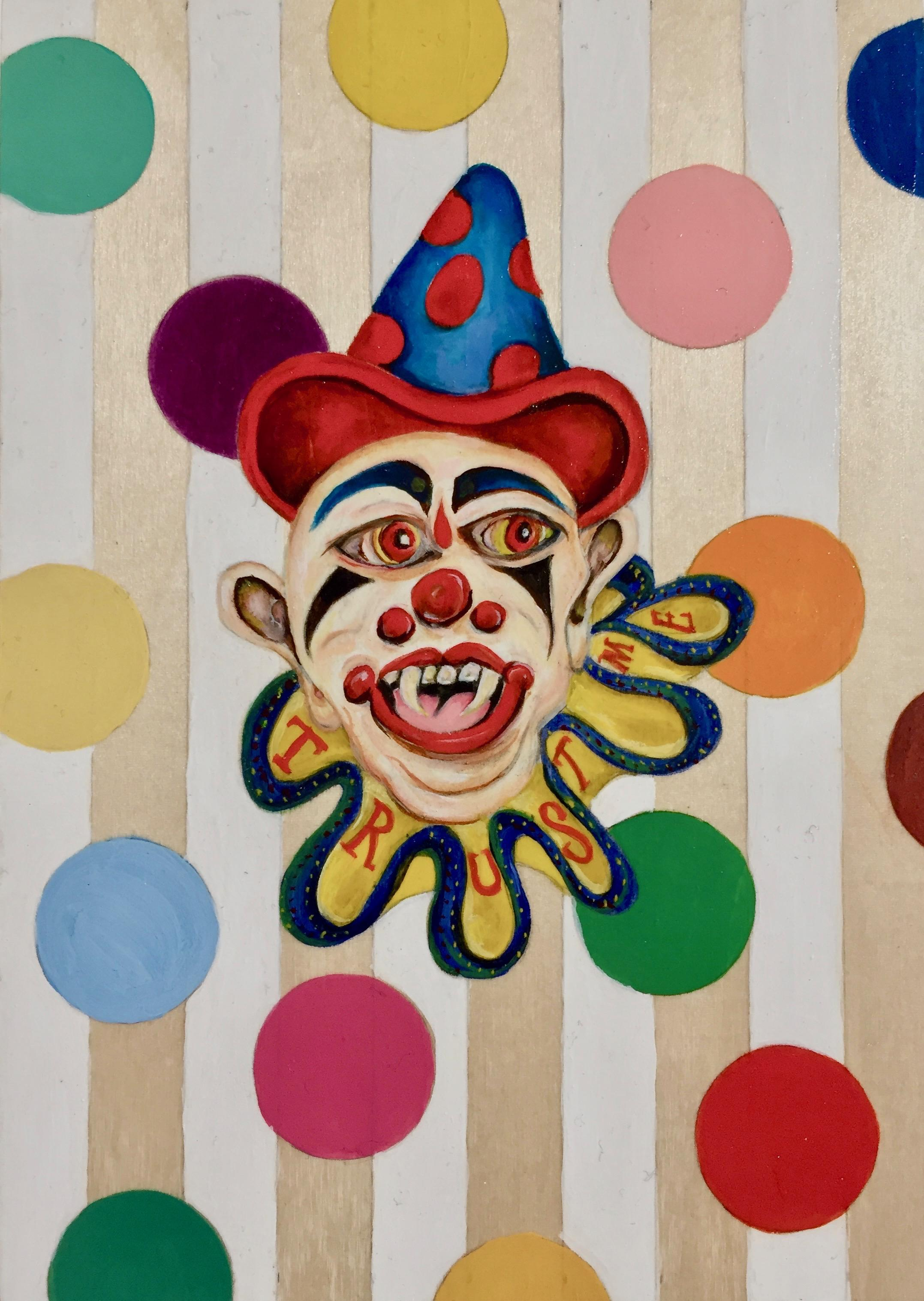 Clown Paintings - 107 For Sale on 1stdibs
