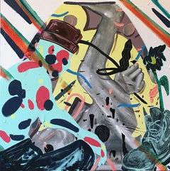 """Raindrop"" acrylic on canvas by Daniel Morowitz"