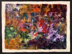 """Secret Garden-Provence"" collage by Jim Ridlon"