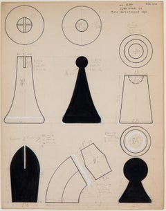 No title (Working Design for Chess Set)