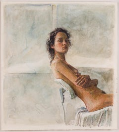Watercolour Nude Drawings and Watercolours