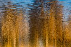 "Autumn (36 x 42"") - Album: AQUA - Water Reflections - Contemporary - Abstract"