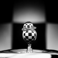 "Checkmate (36 x 36"") - Album: H2O - Water Drops - Contemporary"