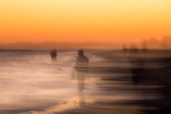 "A Sea Of Strangers (40 x 60"") - Contemporary"