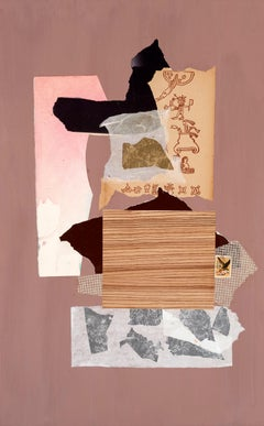 Dorothy Hood, Untitled Collage on Mat