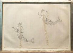 Kiki Smith, Mermaids Collage on Paper, 1994