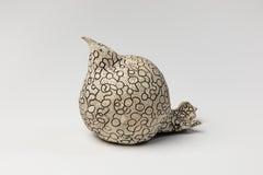 Fiona Waterstreet, Seated Bird #1, Porcelain, 2019