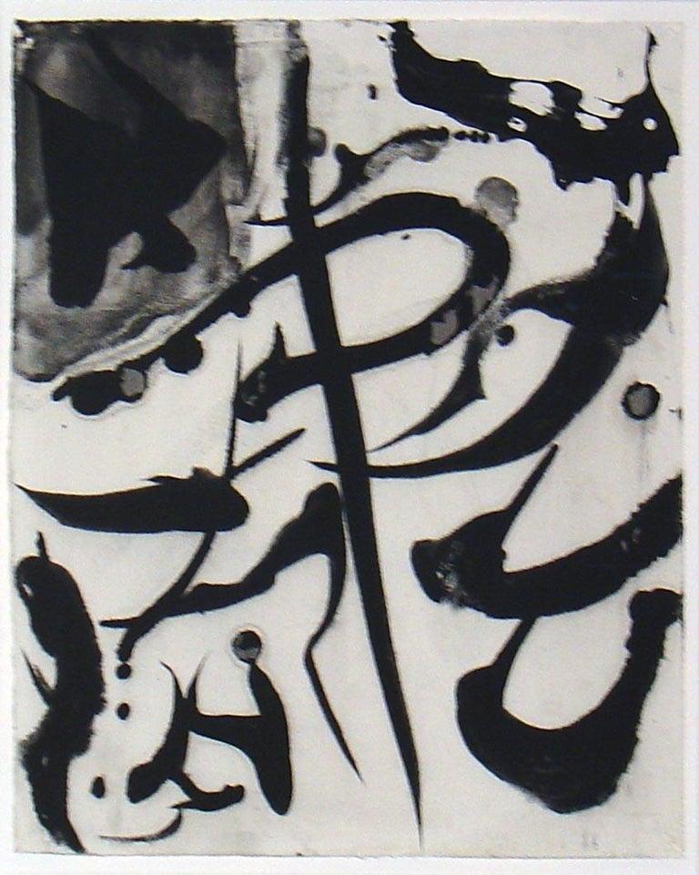 Bill Jensen, Drunken Brush IV, ink and tempera on paper, 2006 - Abstract Art by Bill Jensen