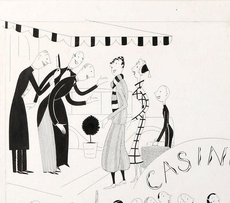 Casino - Art by Anne Harriet (Sefton) Fish