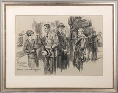 1920s Figurative Drawings and Watercolours