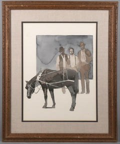 1970s Drawings and Watercolour Paintings