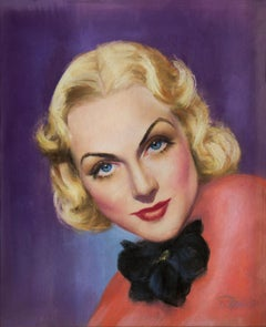 Carole Lombard in Pink