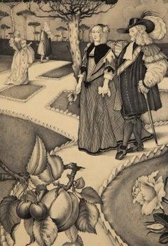 Moll Flanders - Garden Scene