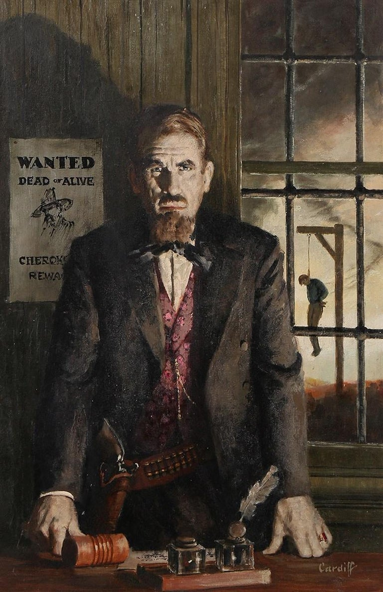Richard Cardiff Figurative Painting - Wanted Dead or Alive