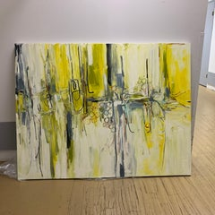 Extra Large Abstract Oil Painting Lisa Kowalski