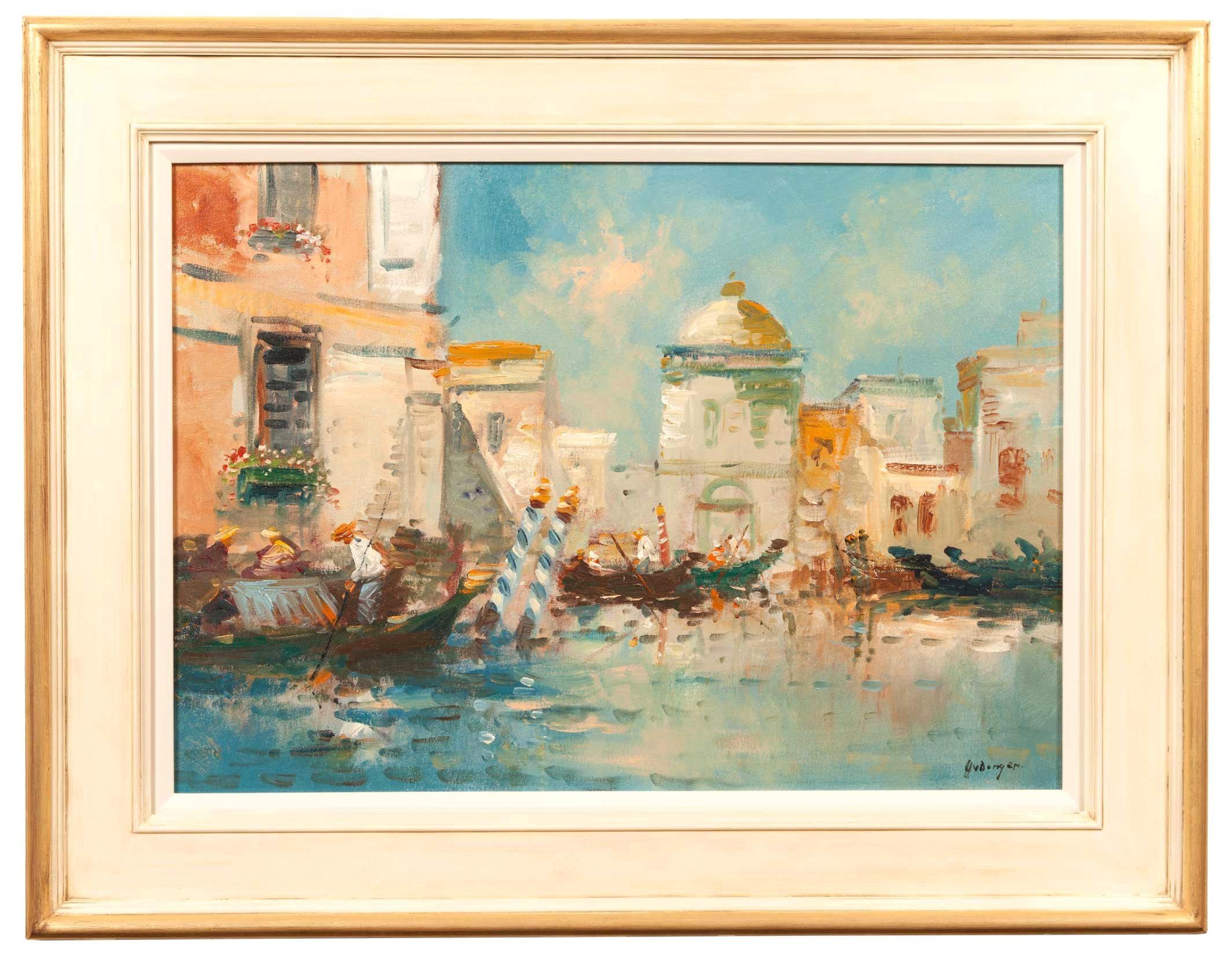 Venetian Oil Painting by Harrjj Van Dongen