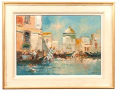 Venetian Oil Painting by Harrjj Van Dongen