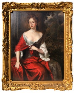Oil Painting, Portrait of Lady Elizabeth Percy by the studio of Sir Peter Lely