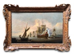 Oil Painting, Seascape, Attributed to Peter Monamy (1681-1749)