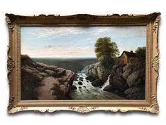 Oil Painting, Landscape, Edward Niemann British (1813-1876)